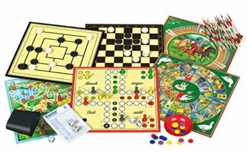 Schmidt Spiele 49147 - Spielesammlung, MIt 100 Spielmöglichkeiten - 4