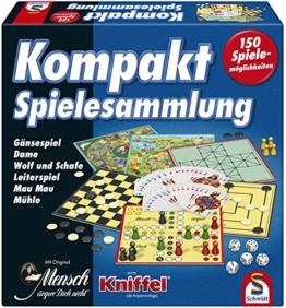 Schmidt Spiele 49188 Kompakt Spielesammlung - 1