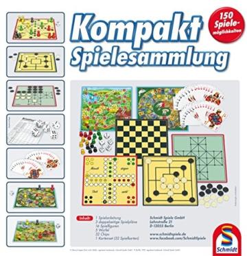 Schmidt Spiele 49188 Kompakt Spielesammlung - 4