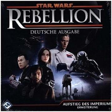Asmodee Fantasy Flight Games FFGD3006 Star Wars: Rebellion - Aufstieg des Imperiums - Erweiterung, Experten-Spiel, Deutsch - 2