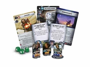 Asmodee Fantasy Flight Games FFGD3006 Star Wars: Rebellion - Aufstieg des Imperiums - Erweiterung, Experten-Spiel, Deutsch - 3