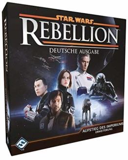 Asmodee Fantasy Flight Games FFGD3006 Star Wars: Rebellion - Aufstieg des Imperiums - Erweiterung, Experten-Spiel, Deutsch - 1