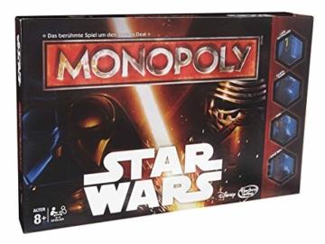 Hasbro B0324100 - Monopoly Star Wars, Familienspiel - 2
