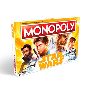 Hasbro Gaming E1702100 Monopoly Solo-A Star Wars Story, Familienspiel - 4