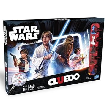 Hasbro Spiele B7688100 - Star Wars Cluedo, Familienspiel - 4