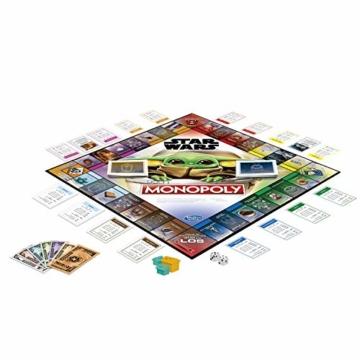 """Monopoly: Star Wars Das Kind Edition, Brettspiel für Familien und Kinder ab 8 Jahren, mit dem Kind, das Fans """"Baby Yoda"""" nennen - 2"""