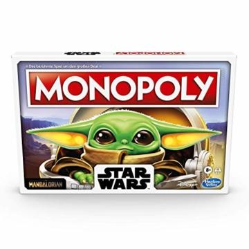 """Monopoly: Star Wars Das Kind Edition, Brettspiel für Familien und Kinder ab 8 Jahren, mit dem Kind, das Fans """"Baby Yoda"""" nennen - 4"""