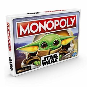 """Monopoly: Star Wars Das Kind Edition, Brettspiel für Familien und Kinder ab 8 Jahren, mit dem Kind, das Fans """"Baby Yoda"""" nennen - 5"""