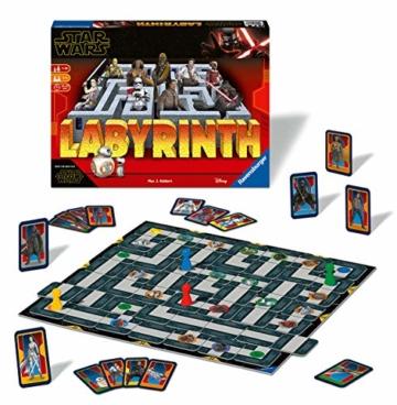 Ravensburger Spiele 26137 - Das verrückte Labyrinth mit den Figuren aus STAR WARS IX - ein Spieleklassiker für die ganze Familie! - 2