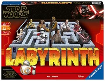Ravensburger Spiele 26137 - Das verrückte Labyrinth mit den Figuren aus STAR WARS IX - ein Spieleklassiker für die ganze Familie! - 1